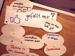 """""""Das gefällt mir an Hagen"""", Ausschnitt vielfältiger Meinungen (Foto: Hannah Scharlau)"""